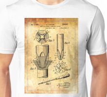 Patent Image - Screwdriver - Ancient Canvas Unisex T-Shirt