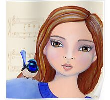 Macy And The Blue Wren Poster