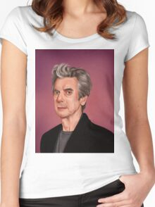 Peter Capaldi Women's Fitted Scoop T-Shirt
