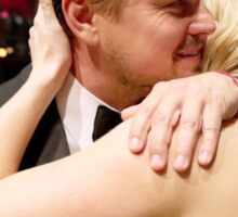 Leonardo Dicaprio and Kate Winslet Oscars Sticker