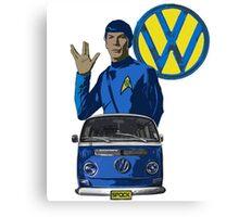 Spock ride VW Canvas Print