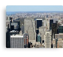 N.Y. Empire State Building Canvas Print