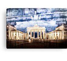 BERLIN Brandenburg Gate | In Detail Canvas Print