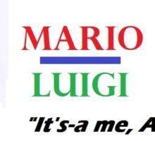 Mario Luigi 2016 Sticker