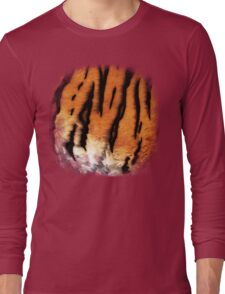 Tiger Fur Long Sleeve T-Shirt