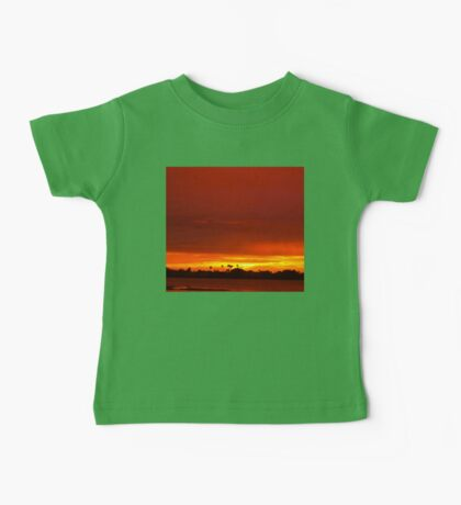 Crimson and amber world Baby Tee