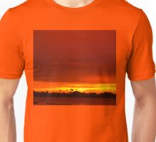 Crimson and amber world Unisex T-Shirt