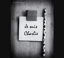 Je suis Charlie - CHARLIE HEBDO - #jesuisCharlie - #marcherepublicaine - #marchedelarepublique Womens Fitted T-Shirt