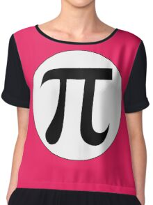 Math Geek Girls Love Pi geekery gear Chiffon Top