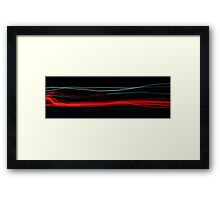 Car Lights Framed Print