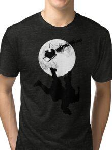 Santa Fallin' Tri-blend T-Shirt