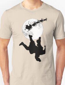 Santa Fallin' Unisex T-Shirt