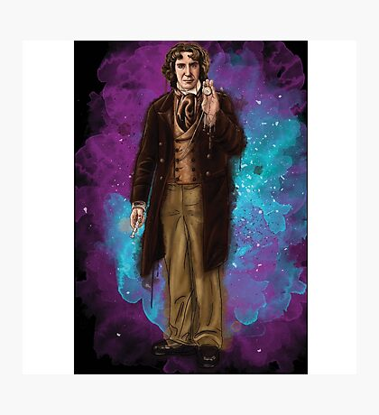 Paul McGann as Doctor Who Photographic Print