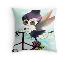 Tinky Tinker-bell Fairy Graphic illustration Throw Pillow