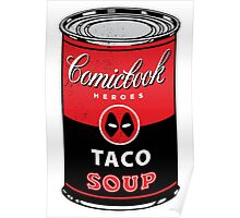 Comicbook Taco Soup Poster