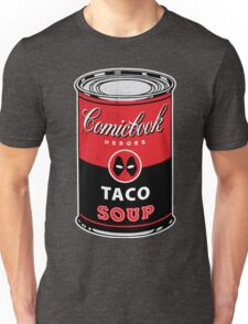 Comicbook Taco Soup Unisex T-Shirt