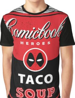 Comicbook Taco Soup Graphic T-Shirt