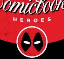 Comicbook Taco Soup Sticker