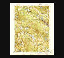 USGS TOPO Map Connecticut CT Montville 330928 1939 31680 Unisex T-Shirt