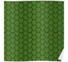 Green Dragon Scales Poster