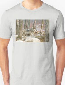 Watchful Timber Wolf T-Shirt