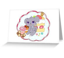 Sweets Espurr Greeting Card
