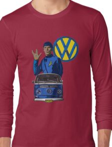 Spock ride VW Long Sleeve T-Shirt