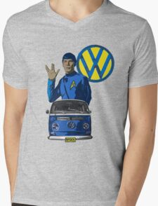 Spock ride VW Mens V-Neck T-Shirt