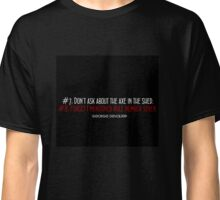"""Catch Perfect"" house rules Classic T-Shirt"