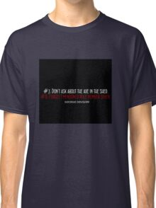 """""""Catch Perfect"""" house rules Classic T-Shirt"""