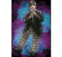 Partick Troughton as Doctor Who Photographic Print