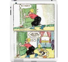 comic vintage iPad Case/Skin