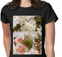 FRÜHLING BLUMEN BUDDA  Womens Fitted T-Shirt
