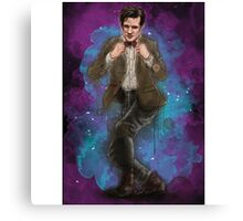 Matt Smith as Doctor Who Canvas Print