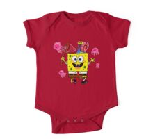 spongebob One Piece - Short Sleeve