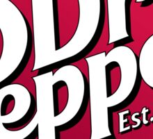 Everyone knows smart people drink Dr. Pepper. Sticker