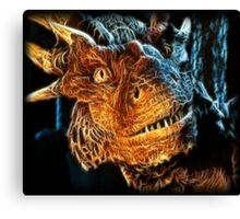 Draco The Dragon From The Hit Dragonheart Movie Canvas Print