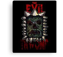 The Evil Thwomp Canvas Print