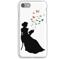Rainbow Butterfly Book iPhone Case/Skin