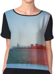 Chicago In An Alternate Reality Women's Chiffon Top