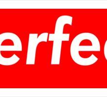 Perfect Supreme Box Logo Sticker