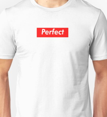 Perfect Supreme Box Logo Unisex T-Shirt
