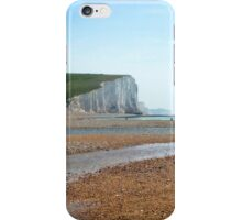 Seven Sisters Beach, East Sussex iPhone Case/Skin