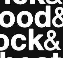 Helvetica Settlers of Catan: Brick, Wood, Rock, Wheat, Sheep | Board Game Geek Ampersand Design Sticker
