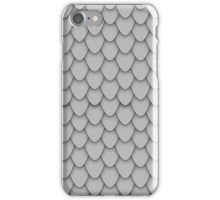 Grey Dragon Scales iPhone Case/Skin