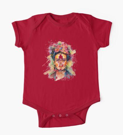 Frida Kahlo One Piece - Short Sleeve