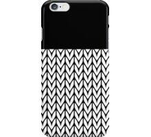 Chevrons Knit Style iPhone Case/Skin