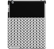 Chevrons Knit Style iPad Case/Skin