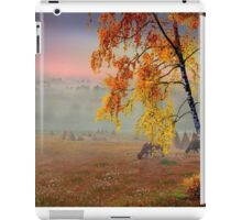 Foggy Country Morning iPad Case/Skin