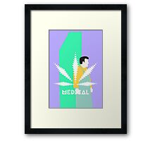 Medical Cannabis  Framed Print